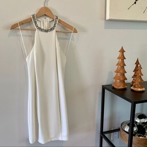 Guess White Party Dress